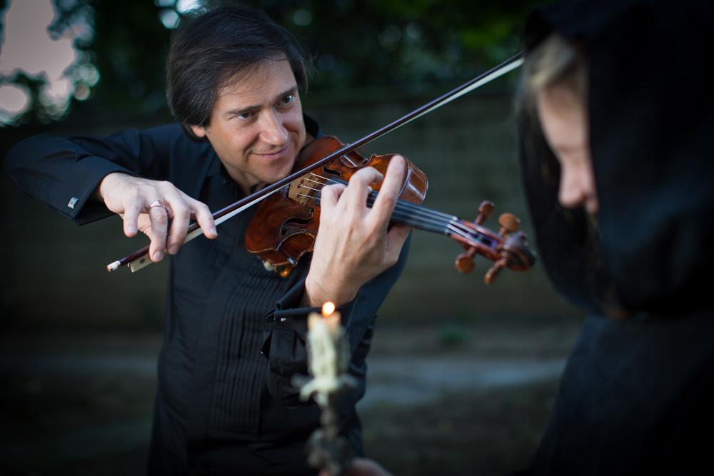 Concerto benefico con il violinista <br> GUIDO RIMONDA