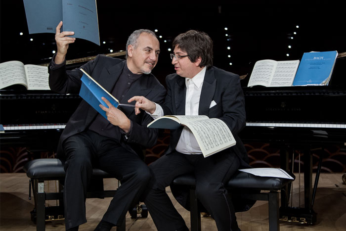 Concerto benefico BACH is in the air<br>Ramin Bahrami – Danilo Rea
